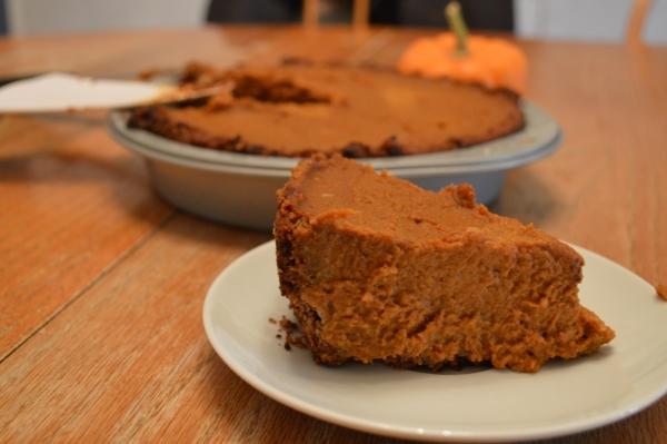 Pumpkin Pie {vegan, gluten-free}