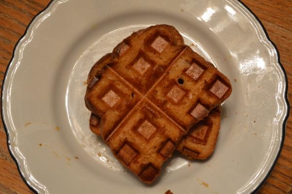 Pumpkin Spice French Toast Waffle