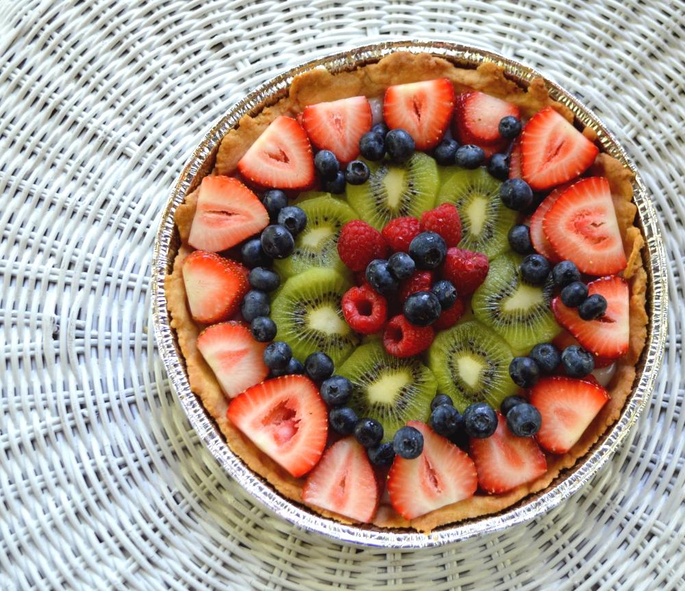 Easy Summer Fruit Tart