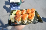 Vegan Sushi from Vegetable Garden