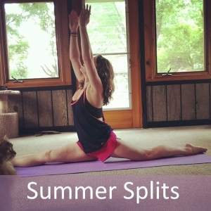 Summer Splits Yoga Challenge