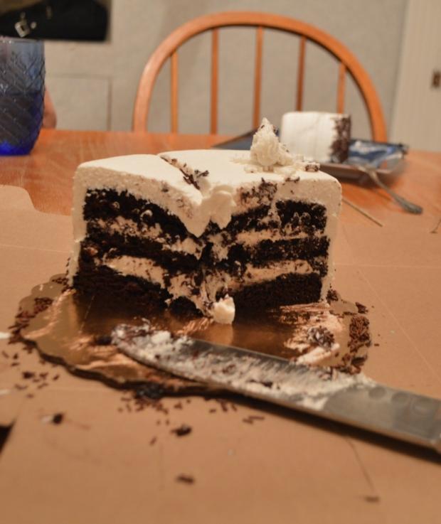 Cannoli Cake from Vegan Treats