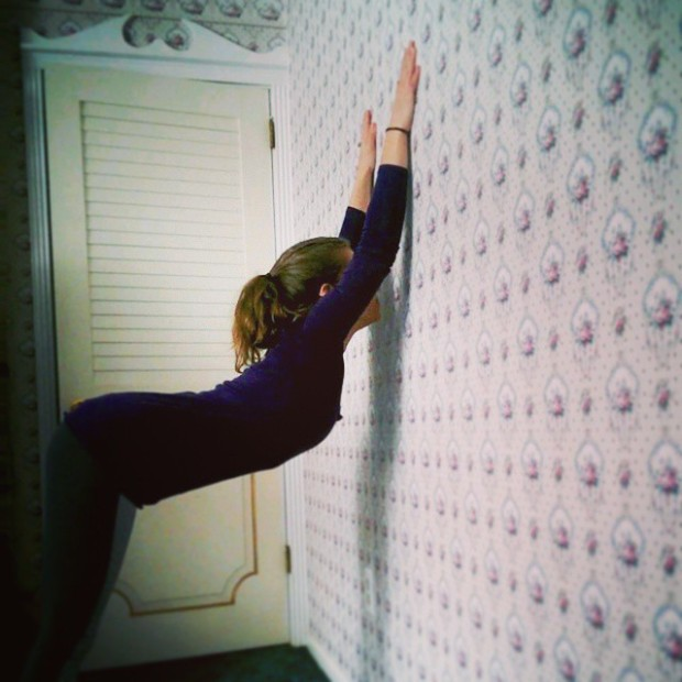 Day 5: Wall Stretch Shoulder Opener