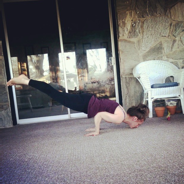Day 11: Peacock pose, Mayurasana