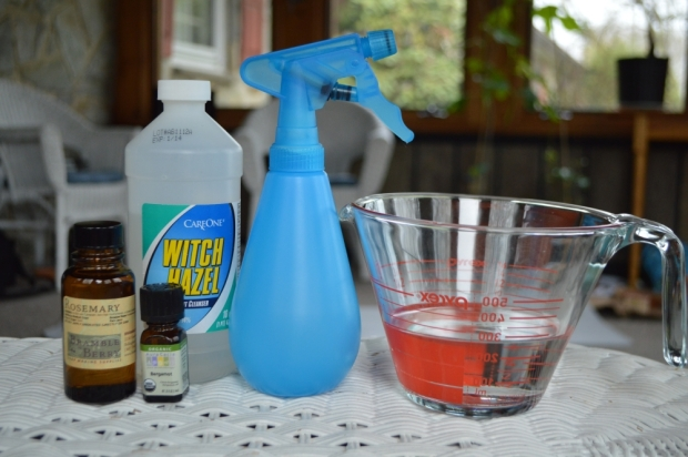 Yoga Spray Ingredients