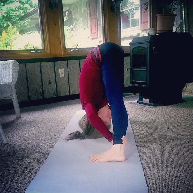 Prasarita Padottanasana A, Wide-Legged Forward Bend