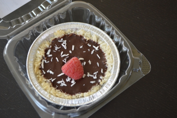 Ocean Organics - Almost Raw Chocolate Raspberry Pie