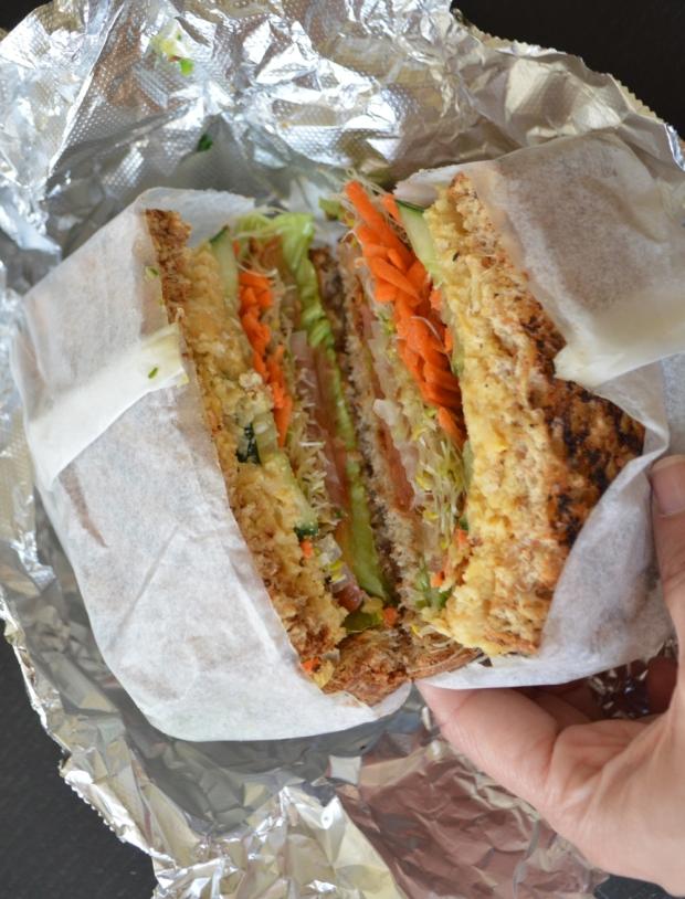 Ocean Organics - Hummus Sandwich
